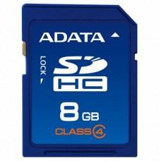 Карта памяти A-DATA 8GB SDHC class 4 (ASDH8GCL4-R)