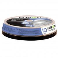 Диск DVD-RW PATRON 4.7Gb 4x CAKE BOX 10 (INS-D029)