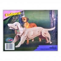 Сборная модель Мир деревянных игрушек Собака (М011)