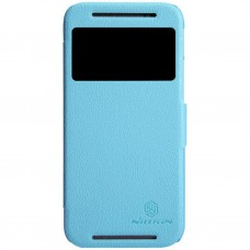 Чехол для моб. телефона для HTC ONE (M8) /Fresh Series Leather Case/Blue NILLKIN (6138237)