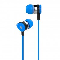 Наушники Celebrat D1 Blue + mic + button call answering (53435)