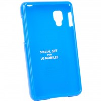 Чехол для моб. телефона VOIA для LG E445 Optimus L4II Dual /Jelly/Blue (6068192)