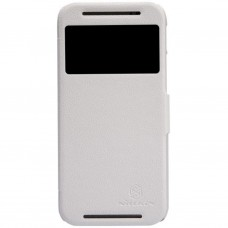 Чехол для моб. телефона для HTC ONE (M8) /Fresh Series Leather Case/White NILLKIN (6138238)