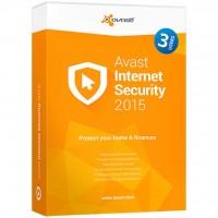 Программная продукция Avast Internet Security 2015 3 ПК 1 год Base Box (4820153970328)