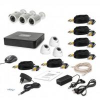 Комплект видеонаблюдения Tecsar AHD 6OUT-MIX LUX (6647)