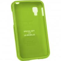 Чехол для моб. телефона VOIA для LG E445 Optimus L4II Dual /Jelly/Lime (6068197)