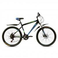 """Велосипед Premier Captain Disc 19"""" черный с голубым-зеленым-белым (TI-14287)"""