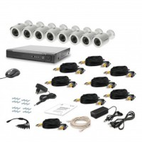Комплект видеонаблюдения Tecsar AHD 8OUT LUX (6527)