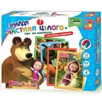 Настольная игра Vladi Toys Найди части целого. Маша и Медведь (укр.) (VT3304-10)