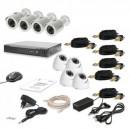 Комплект видеонаблюдения Tecsar AHD 8OUT LUX MIX (6653)