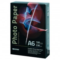 Бумага Tecno 10x15cm 230g 100 pack Glossy (230 A6 VP ED)
