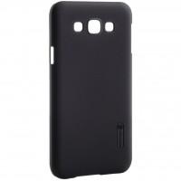 Чехол для моб. телефона NILLKIN для Samsung E7/E700 - Super Frosted Shield (Черный) (6212914)