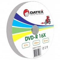 Диск DVD-R DATEX 4.7Gb 16x BULK 10 pcs (5949273)