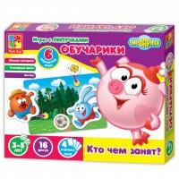 Настольная игра Vladi Toys Обучарики Кто чем занят (VT2307-04)