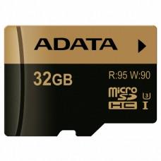 Карта памяти A-DATA 32GB microSD class 10 XPG UHS-I U3 (AUSDH32GXUI3-R)