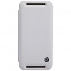 Чехол для моб. телефона для HTC ONE (M8) /Rain Leather Case/White NILLKIN (6138246)