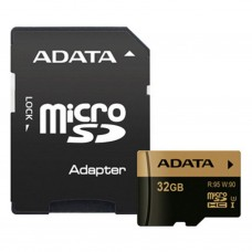Карта памяти A-DATA 32GB microSD class 10 XPG UHS-I U3 (AUSDH32GXUI3-RA1)