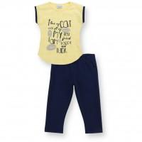 Набор детской одежды Breeze с лапками (8697-104G-yellow)