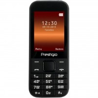 Мобильный телефон PRESTIGIO 1240 Duo Black (PFP1240DUOBLACK)