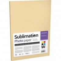 Бумага ColorWay A3 Sublimation (PSM100050A3)