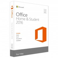 Программная продукция Microsoft Office Mac 2016 Home Student English (GZA-00646)