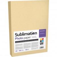 Бумага ColorWay A4 Sublimation (PSM100100A4)