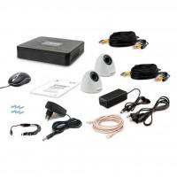 Комплект видеонаблюдения Tecsar 2IN DOME (8878)