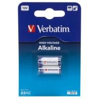 Батарейка Verbatim A23 (23AE/MN21) Alkaline 12V * 2 (49939)