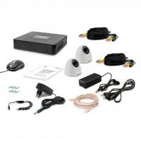 Комплект видеонаблюдения Tecsar 2IN DOME LUX (8880)