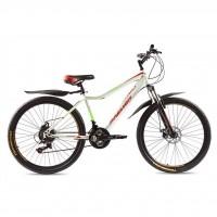 """Велосипед Premier Rocket Disc 16"""" белый с красным-зеленым (TI-14299)"""
