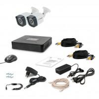 Комплект видеонаблюдения Tecsar 2OUT LIGHT (8863)