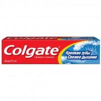 Зубная паста Colgate освежающая Крепкие зубы Свежее дыхание 50 мл (7891528039749)