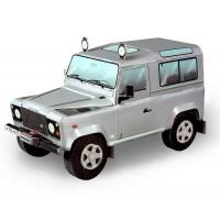 Сборная модель Умная бумага LandRover Defender 90 (металлик) серии Автомобили (146-03)