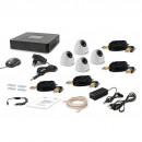 Комплект видеонаблюдения Tecsar 4IN DOME LUX (8886)