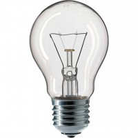 Лампочка PHILIPS E27 40W 230V A55 CL 1CT/12X10F Stan (926000000885)