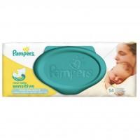 Влажные салфетки Pampers New Baby Sens 54 шт (4015400686101)