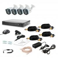 Комплект видеонаблюдения Tecsar 4OUT LIGHT (8869)