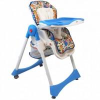 Стульчик для кормления Alexis-Babymix YB602A Blue (18240)