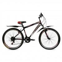 """Велосипед Premier Vapor 17"""" черный с белым-красным (TI-14290)"""