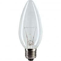 Лампочка PHILIPS E27 40W 230V B35 CL 1CT/10X10F Stan (921492044218)