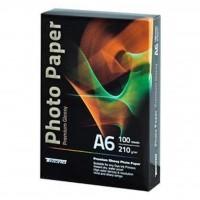 Бумага Tecno 10x15cm 210g 100 pack Glossy, Premium Photo Paper CB (PG 210 A6 CP)