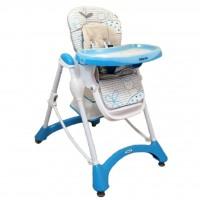 Стульчик для кормления Alexis-Babymix YQ-198 Blue (18700)
