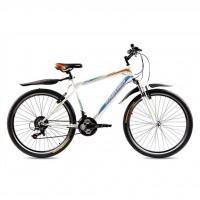 """Велосипед Premier Vapor 19"""" белый с голубым-оранжевым-зеленым (TI-14292)"""
