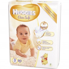 Подгузник Huggies Elite Soft 3 Mega 80 шт (5029053545295)