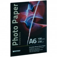 Бумага Tecno 10x15cm 230g 100 pack Glossy, Premium Photo Paper CB (PG 230 A6 CP)