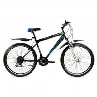 """Велосипед Premier Vapor 19"""" черный с голубым-зеленым-белым (TI-14293)"""