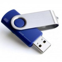 USB флеш накопитель GOODRAM 8Gb Twister Blue (UTS2-0080B0R11)