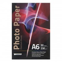 Бумага Tecno 10x15cm 230g 50 pack Glossy, Premium Photo Paper CB (PG 230 A6 CP50)