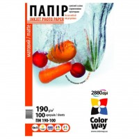 Бумага ColorWay 10x15 (ПМ190-100) (PM1901004R)