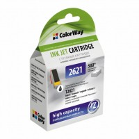 Картридж ColorWay для EPSON XP600/605/700 black pigment (CW-EPT2621)